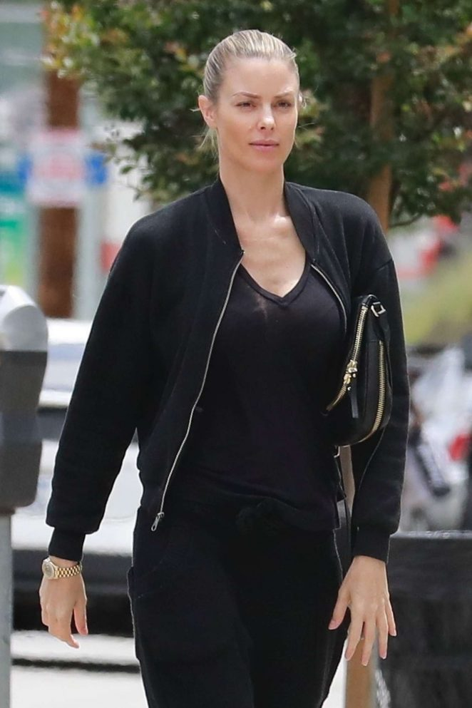 Paige Butcher - Out and about in Studio City