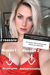 Paige Spiranac - Social media photos and videos