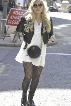 Paige Turley - Leaves Ducie Street warehouse in Manchester