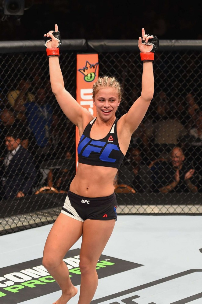 Paige VanZant - UFC 191 at the MGM Grand Garden Arena in Last Vegas