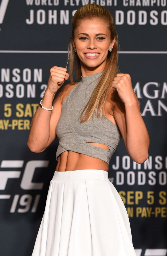 Paige VanZant - UFC 191 Ultimate Media Day in Las Vegas