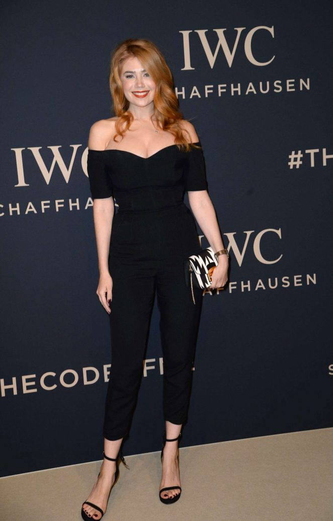 Palina Rojinski - IWC Gala Decoding the Beauty of Time at SIHH 2017 in Geneva