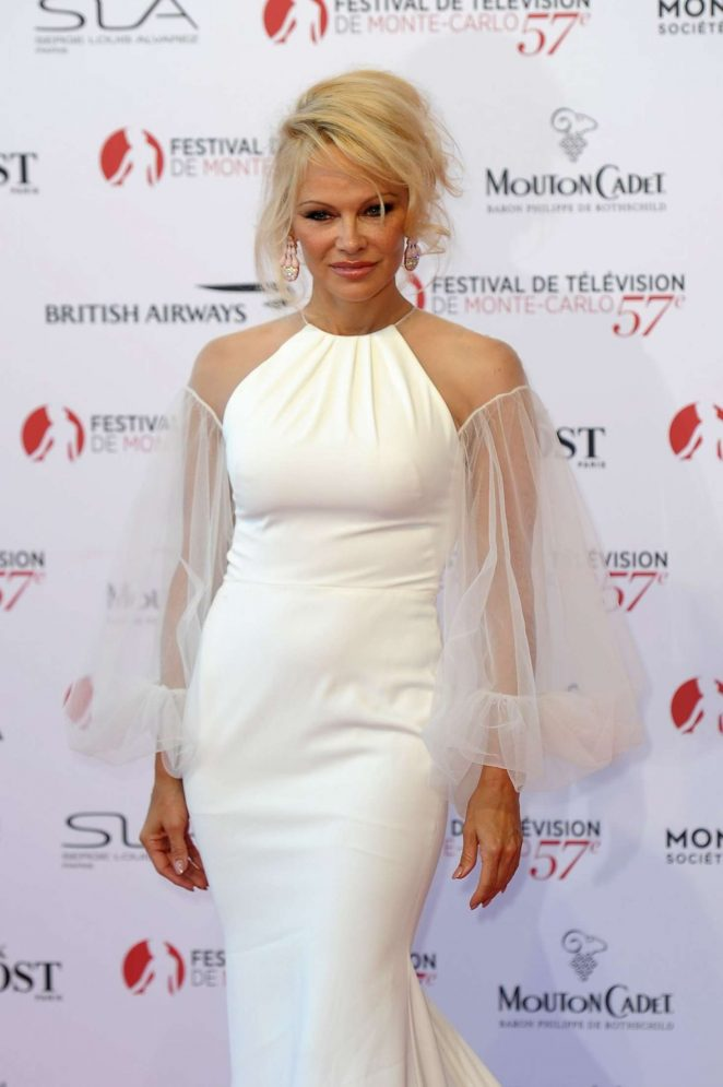 Pamela Anderson - 57th Monte-Carlo Television Oopening Ceremony