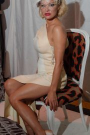Pamela Anderson - Andreas Kronthaler for Vivienne Westwood Show in Paris