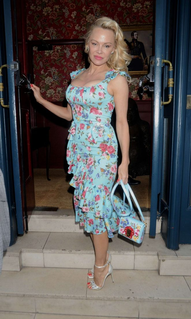Pamela Anderson at Coco de Mer: Icons Collection launch party in London