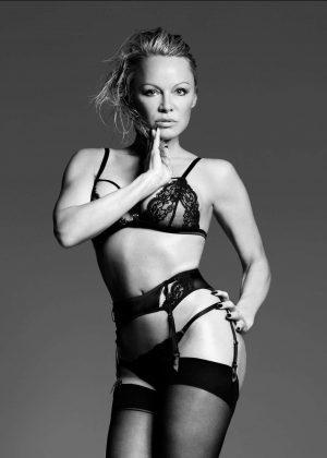 Pamela Anderson - Bondage Photoshoot for Coco de Mer Line 2017