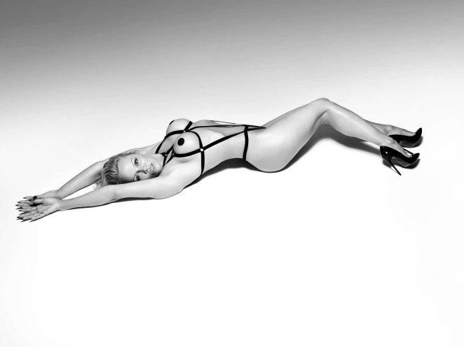 Pamela Anderson: Bondage Photoshoot for Coco de Mer Line 2017 -07
