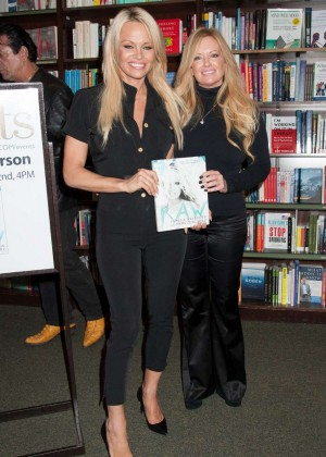 Pamela Anderson - Book Signing 'RAW' in NY