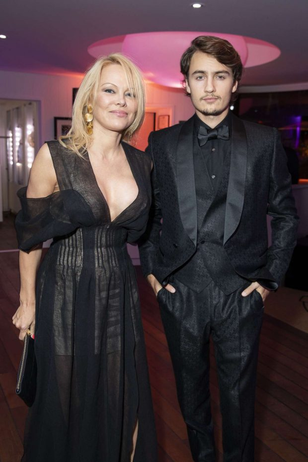 Pamela Anderson - Chopard Trophy at Agora 2019 Cannes Film Festival