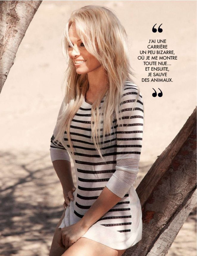 Pamela Anderson - Elle France Magazine (May 2016)