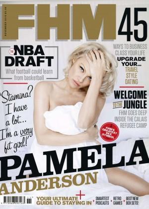 Pamela Anderson - FHM UK Magazine (November 2015)