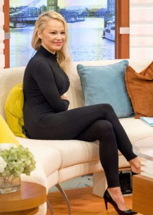 Pamela Anderson - Good Morning Britain Pamela AndersonShow in London