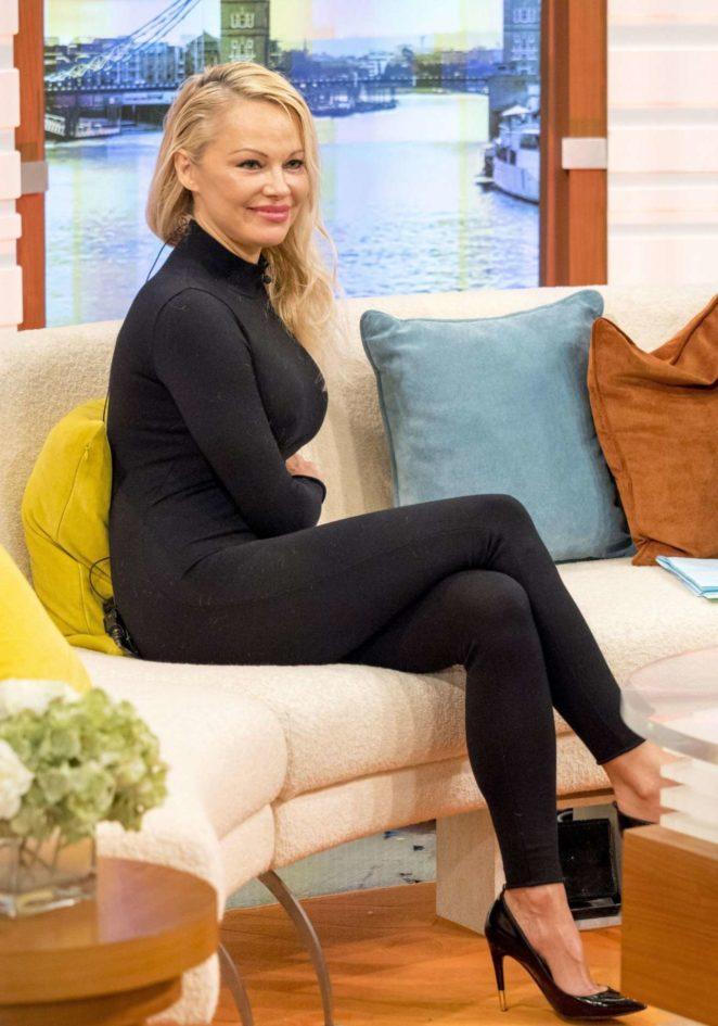 Pamela Anderson - Good Morning Britain Pamela AndersonShow in London