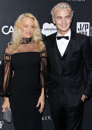 Pamela Anderson - Haiti Rising Gala in Beverly Hills