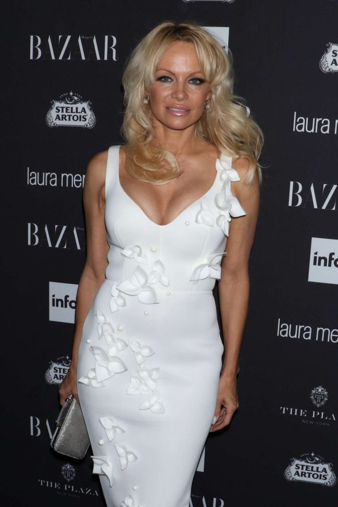 Pamela Anderson - Harpers Bazaar Icons Party 2016 in NYC
