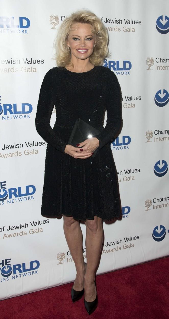Pamela Anderson - Jewish Values International Awards Gala in New York