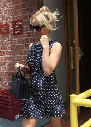 Pamela Anderson - Leaving a Doctors Office in Beverly Hills