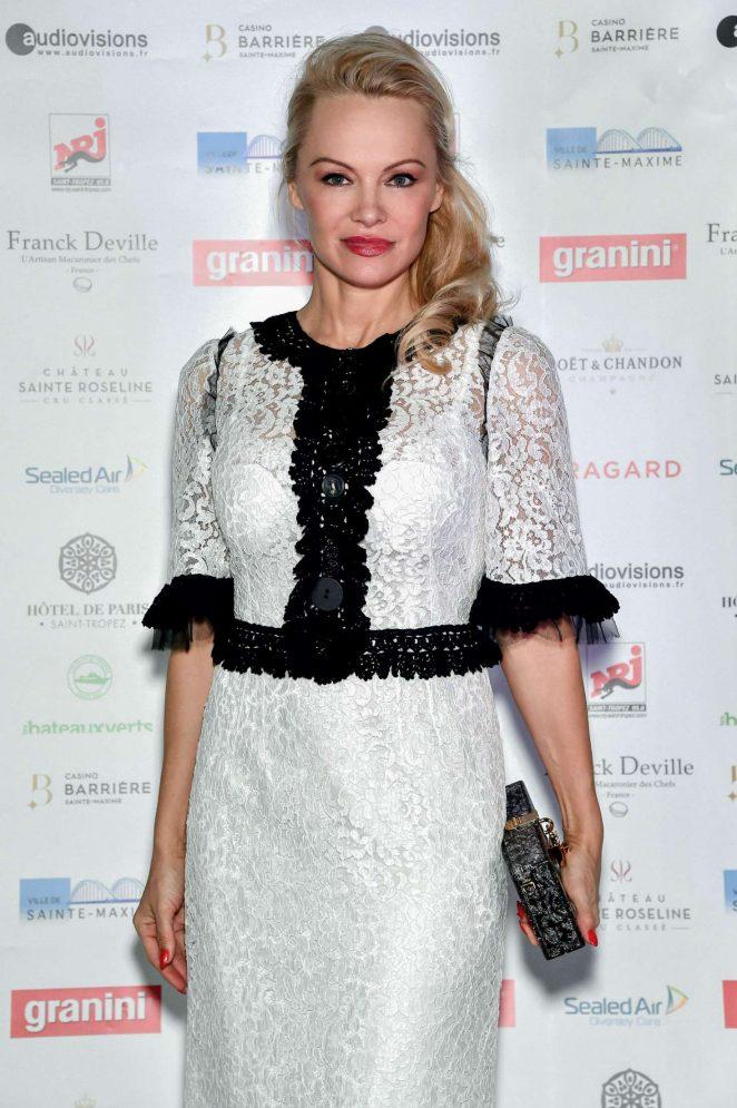 Pamela Anderson - Pamela Anderson Foundation Gala in Sainte-Maxime