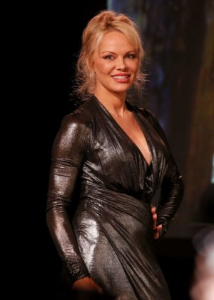 Pamela Anderson - Sea Shepard 40th Anniversary in Bordeaux