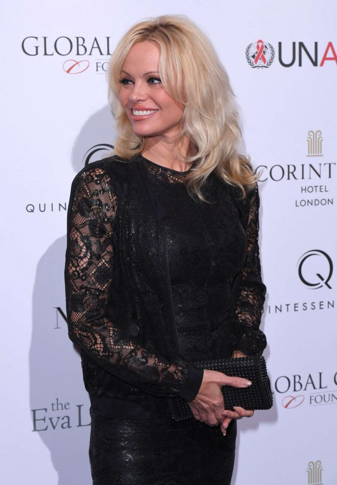 Pamela Anderson - The Global Gift Gala 2016 in London