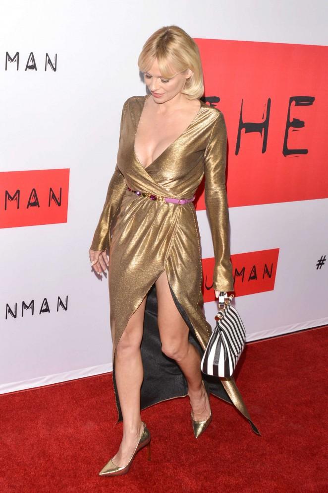 """Pamela Anderson - """"The Gunman"""" Premiere in LA"""