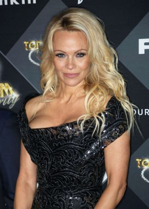 Pamela Anderson – Top Model Belgium 2017 in Paris