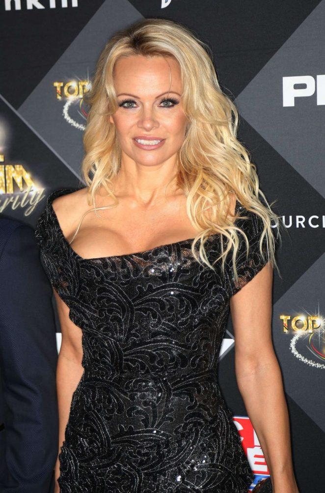 Pamela Anderson - Top Model Belgium 2017 in Paris