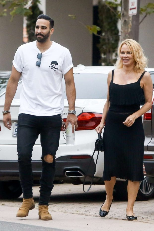 Pamela Anderson: With Her Boyfriend Adil Rami in Malibu-02