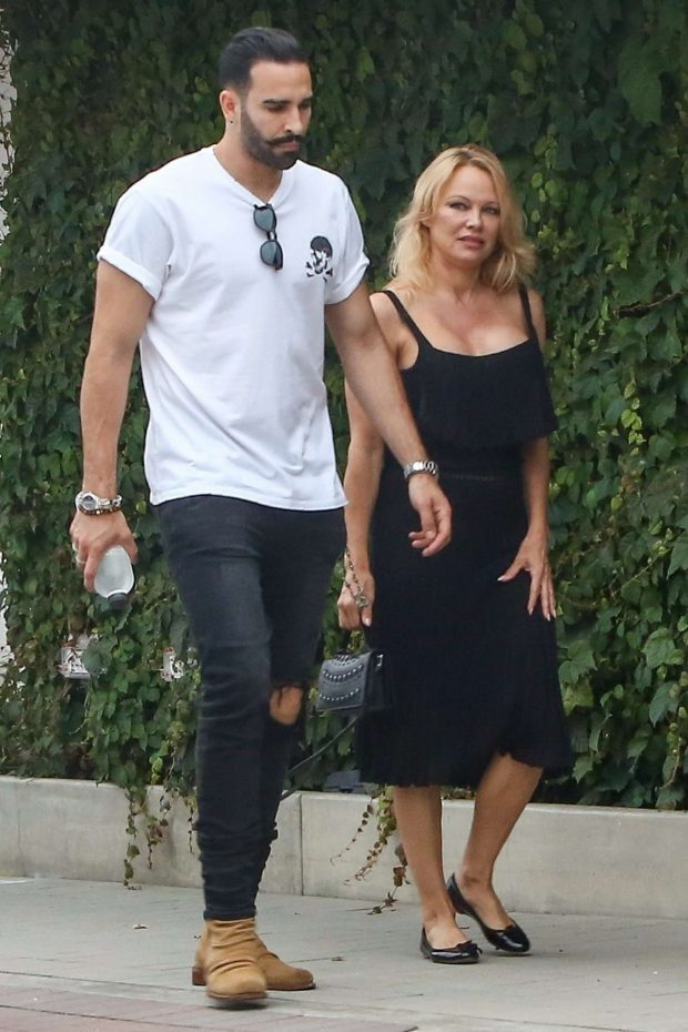 Pamela Anderson: With Her Boyfriend Adil Rami in Malibu-11