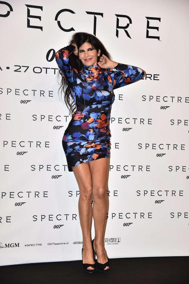 Pamela Prati - 'Spectre' Premiere in Rome