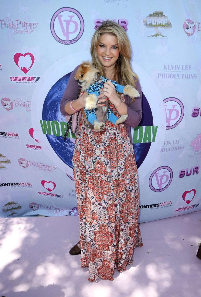 Pandora Vanderpump - 2016 World Dog Day in West Hollywood
