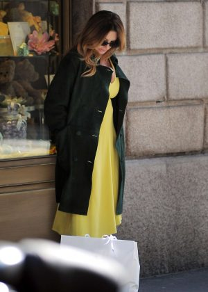 Paola Ferrari out in Milan