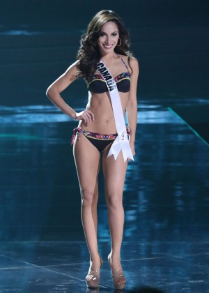 Paola Nunez - Miss Universe 2015 Preliminary Round in Las Vegas