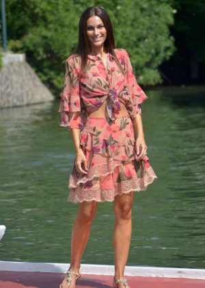 Paola Turani at 75th Venice Film Festival in Venice