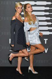 Paris and Nicky Hilton - Savage x Fenty Show in Brooklyn
