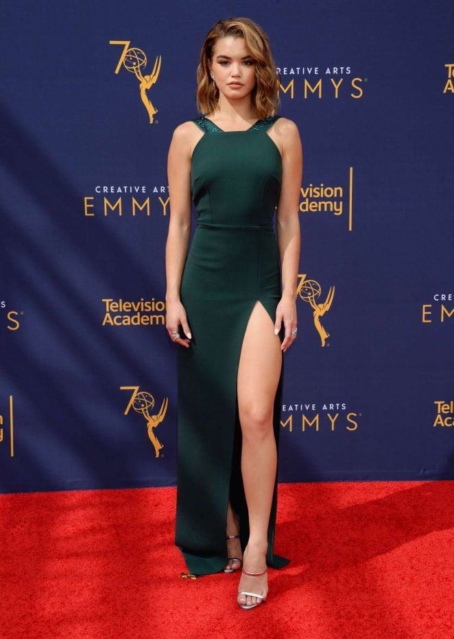 Paris Berelc - 2018 Primetime Creative Arts Emmy Awards in Los Angeles