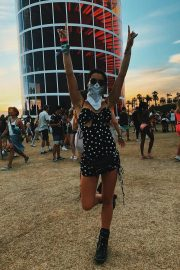 Paris Berelc at Coachella - Personal Pics
