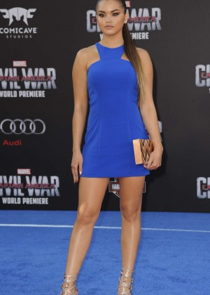 Paris Berelc - 'Captain America: Civil War' Premiere in Hollywood
