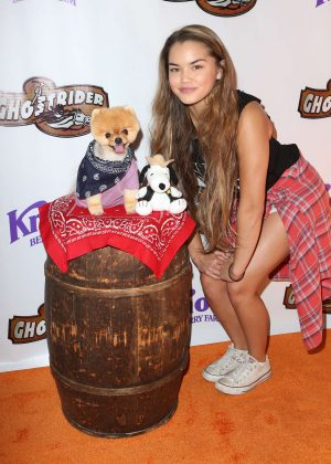 Paris Berelc - GhostRider Reopening at Knott's Berry Farm in Buena Park