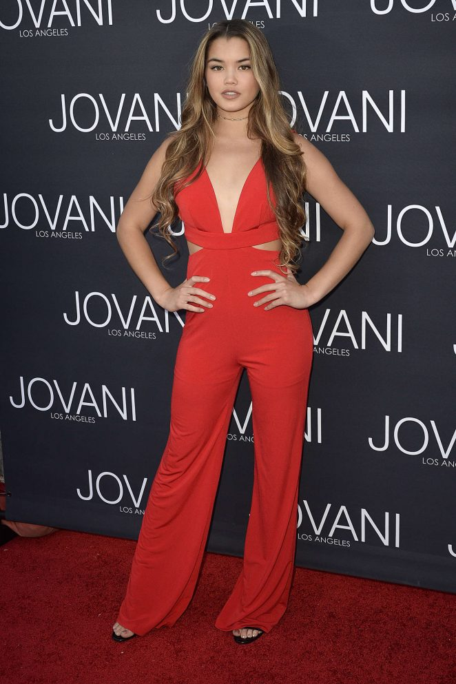 Paris Berelc - Jovani Los Angeles Store Opening Celebration in West Hollywood