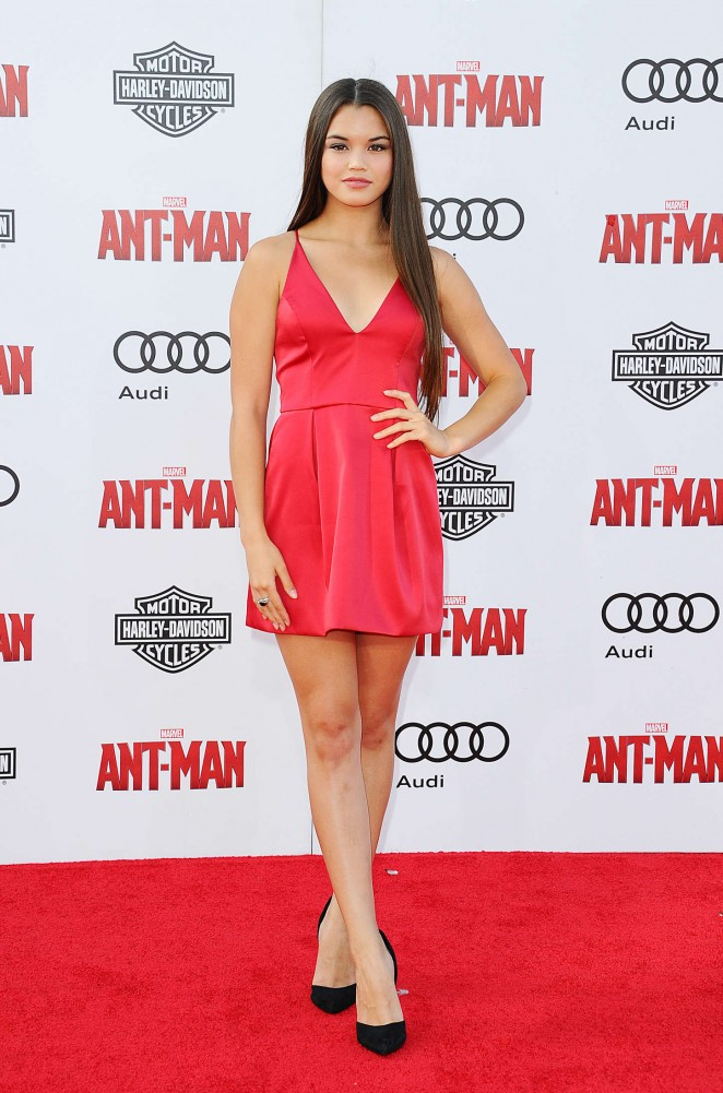 Paris Berelc - Marvel's 'Ant-Man' Premiere in Hollywood