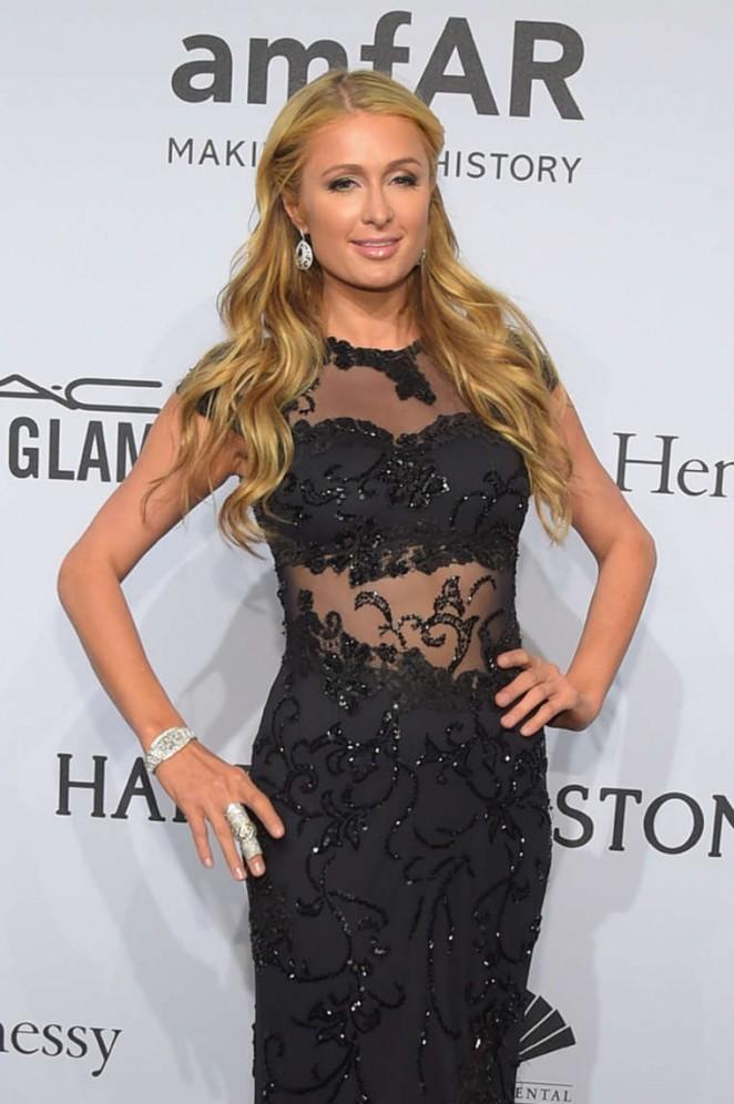 Paris Hilton – 2015 amfAR New York Gala