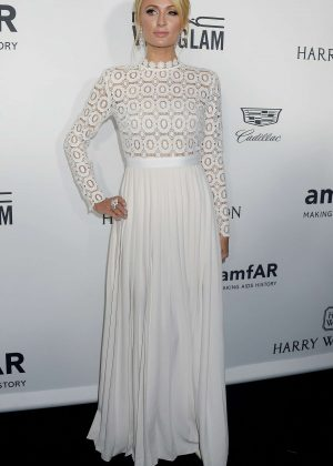 Paris Hilton - 2016 amfAR Inspiration Gala in Los Angeles
