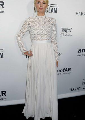 Paris Hilton - 2016 amfAR Inspiration Gala in Los Angeles