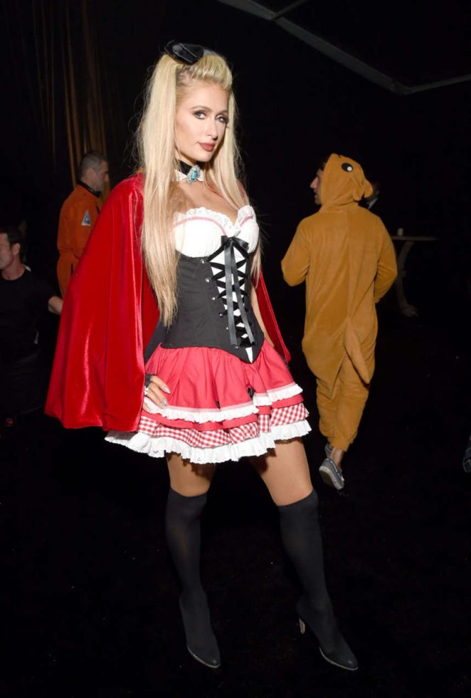 Paris Hilton - 2016 Casamigos Tequila Halloween Party in Beverly Hills