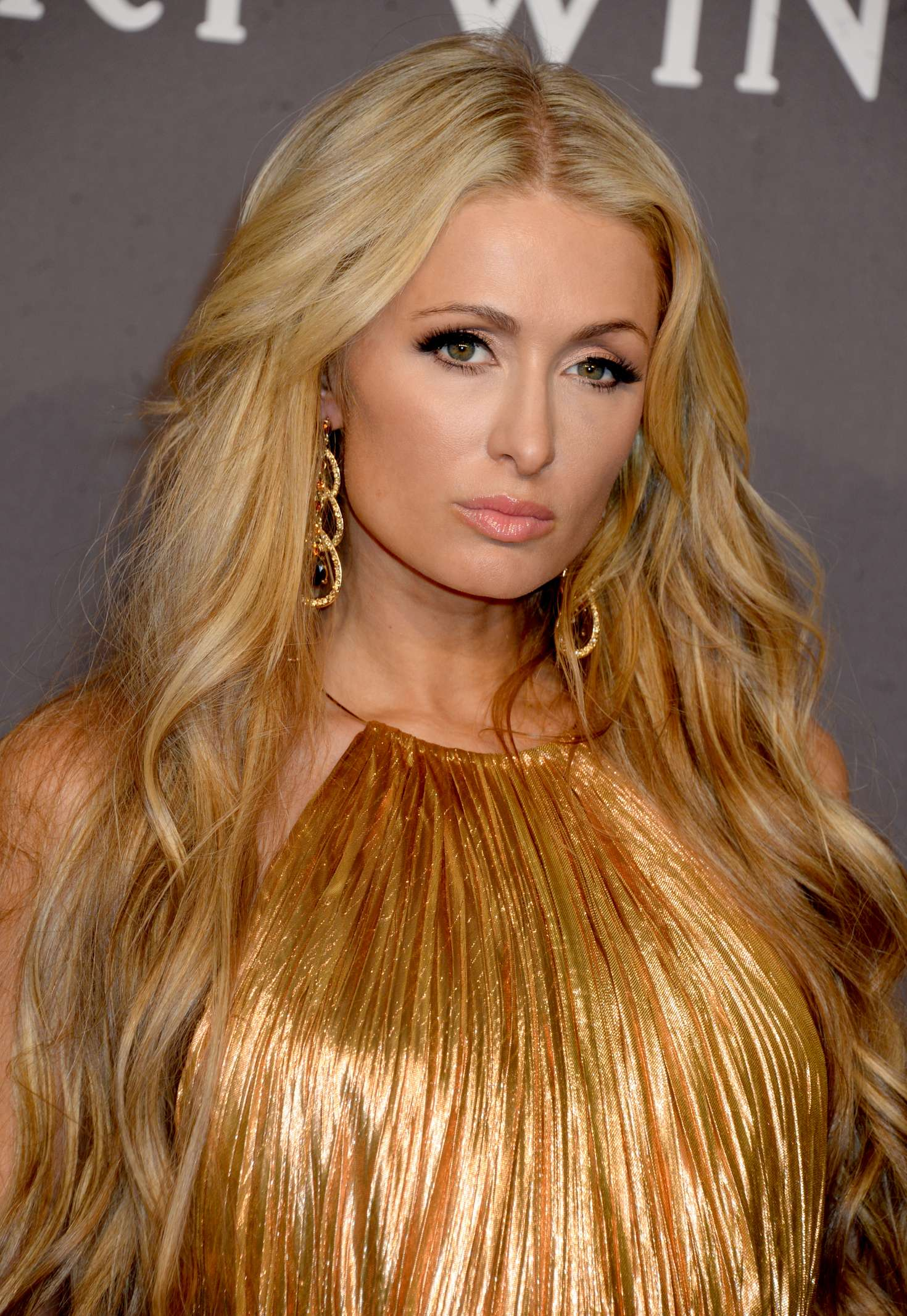 2017 New Kylie Cosmetics Lip Kit Vixen Merry Holiday: Paris Hilton: 2017 AmfAR New York Gala -09