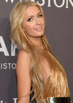 Paris Hilton - 2017 amfAR New York Gala in New York City