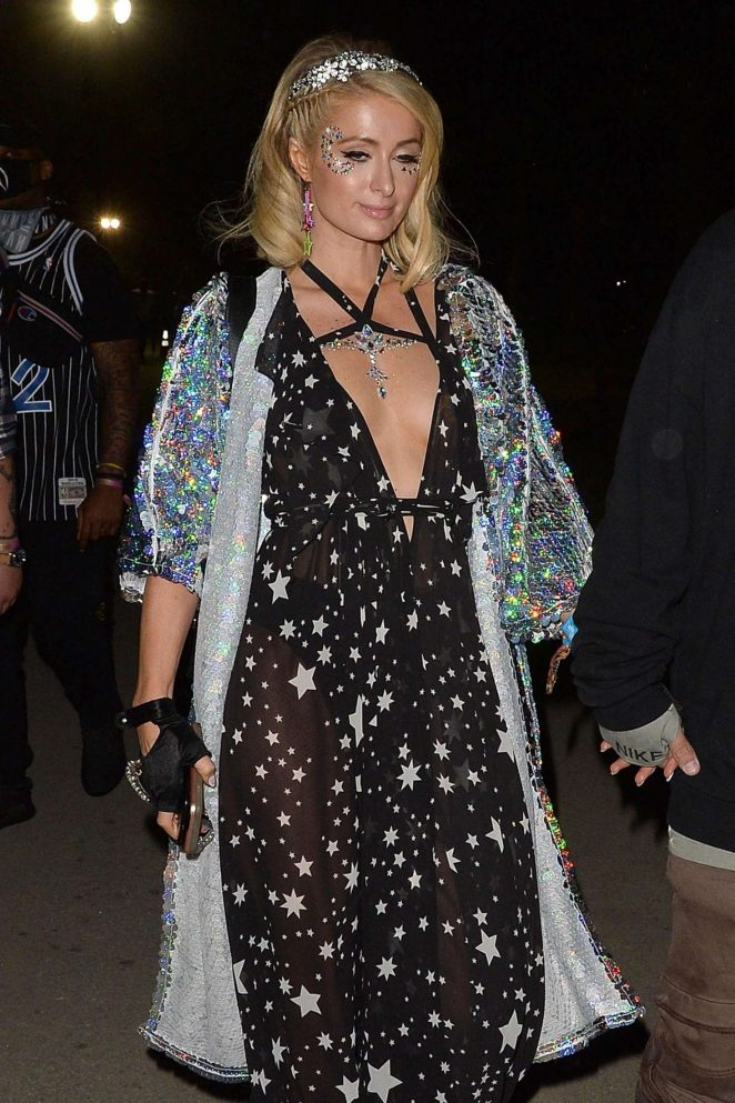 Paris Hilton - 2018 Coachella Festival in Indio