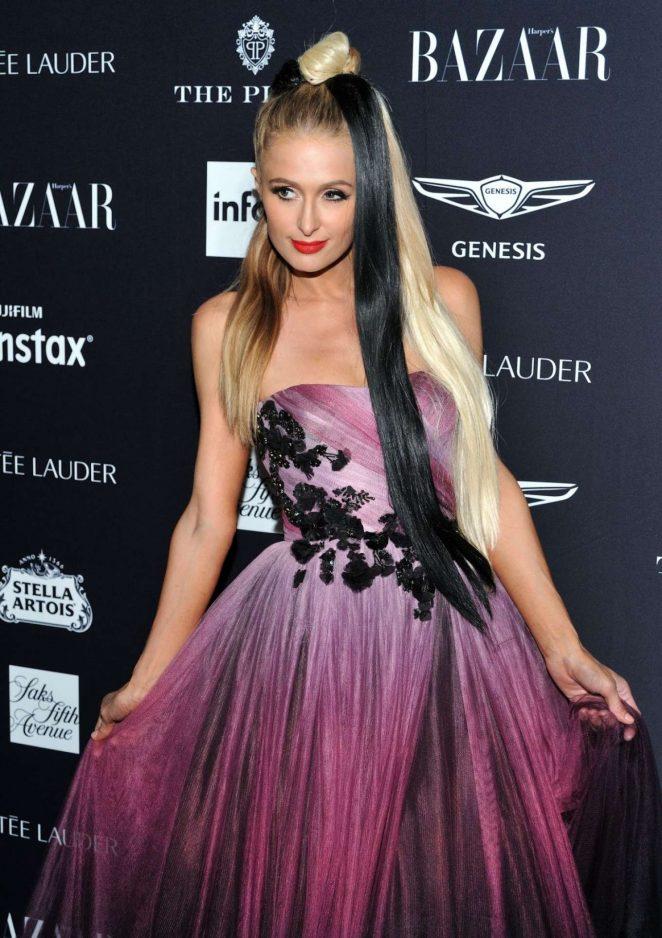 Paris Hilton – 2018 Harper's Bazaar ICONS Party in New York