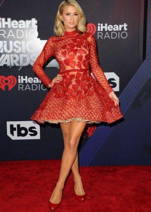 Paris Hilton - 2018 iHeartRadio Music Awards in Inglewood
